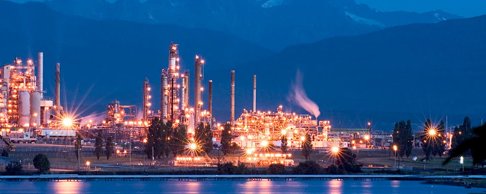 Keeping an expensive oil refining capacity protected