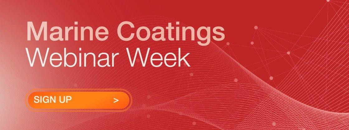 Marine Coatings Webinar Week Graphic
