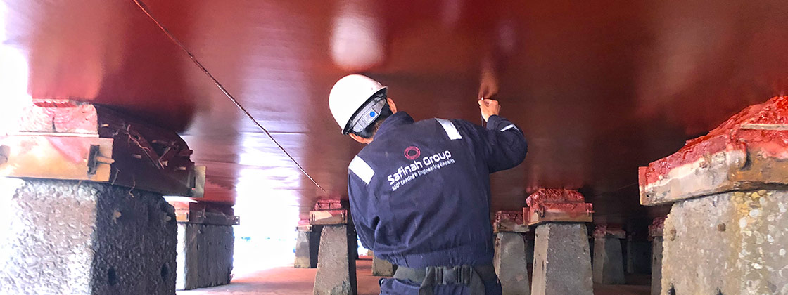 Biocide Free Article - Dry Dock Inspection